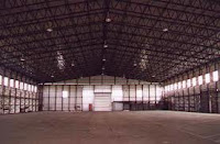 factory warehouse logistic place machines